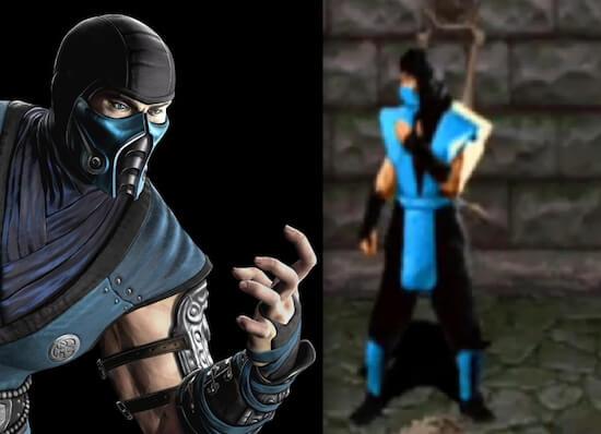 Sub Zero in Mortal Kombat