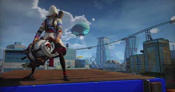 Play as a Female Assassin in Sunset Overdrive