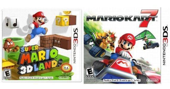 Super Mario 3D Land Mario Kart 7 Dates Features