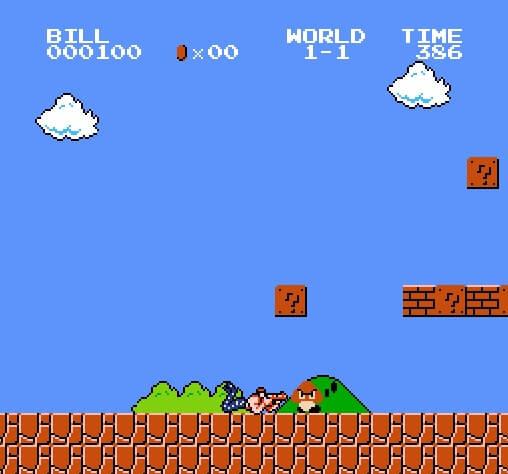Super Mario Bros. Crossover Bill R.