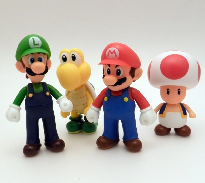 Super Mario Large Action Figure Collection Series 1