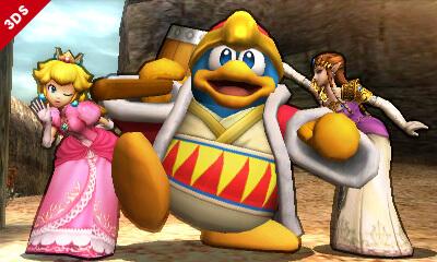 Super Smash Bros 3DS King Dedede