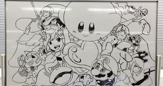 Artwork Hints at Returning 'Super Smash Bros.' Characters?