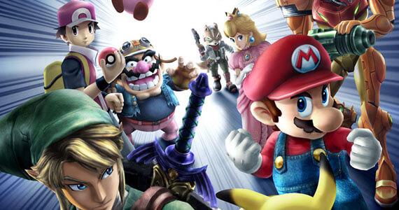 Super Smash Bros 4 screenshots