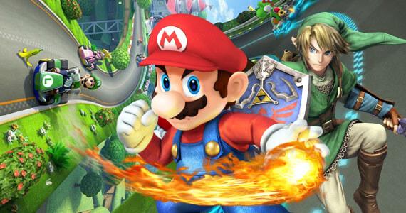 Super Smash Bros Mario Kart 8 Wii U Spring Release