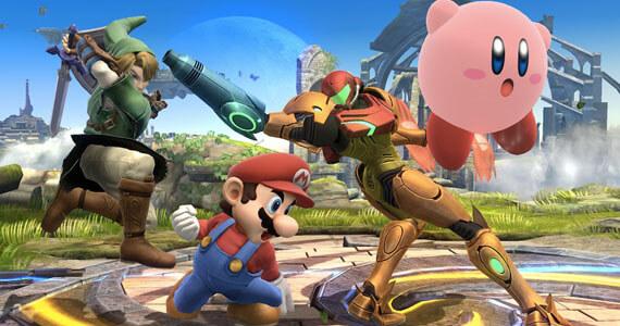 Super Smash Bros Wii U 3DS Screenshots