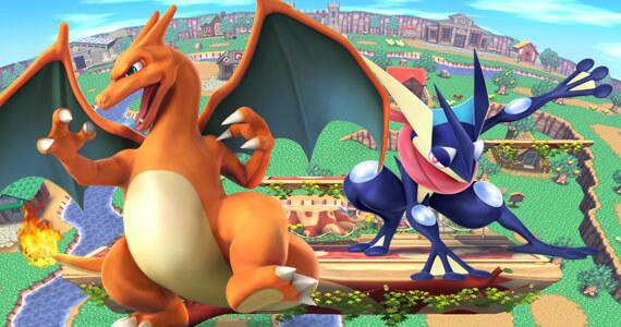 Catch Charizard and Greninja in New 'Super Smash Bros.'