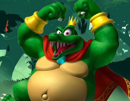 Super Smash Bros Wii U 3DS King K Rool
