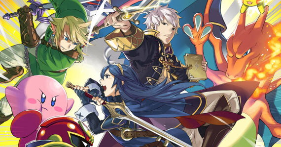 Lucina, Robin, and Capt. Falcon Join New 'Super Smash Bros.'