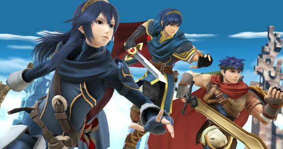 Super Smash Bros Wii U 3DS Lucina