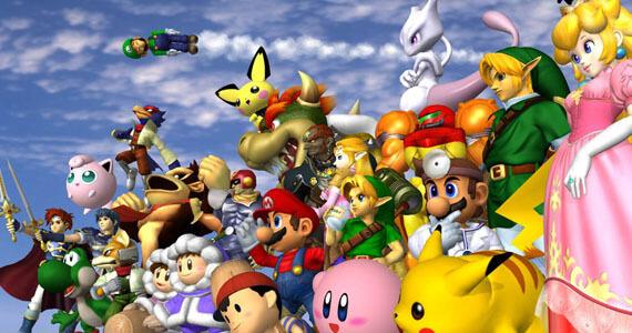 Super Smash Bros Wii U 3DS Mewtwo Melee