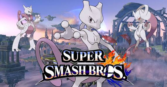 Super Smash Bros Wii U 3DS Mewtwo Return