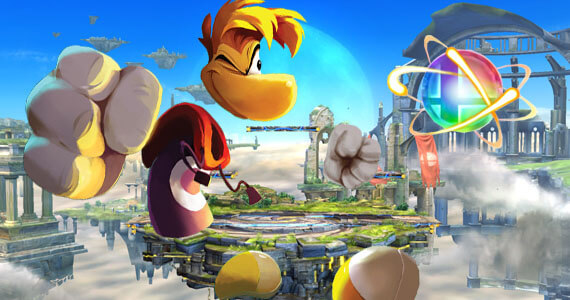 Rayman Featured in New 'Super Smash Bros.'… As a Trophy