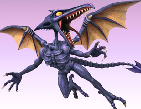 Super Smash Bros Wii U 3DS Ridley