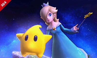 Super Smash Bros Wii U 3DS Rosalina Screenshots 11