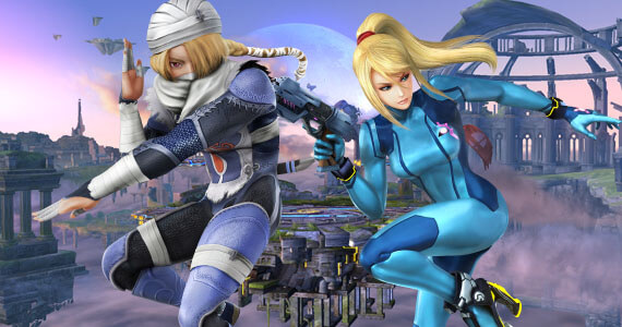 Sheik and Zero Suit Return As 'Super Smash Bros.' Removes Transformations