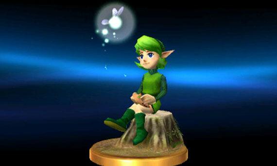 Super Smash Bros Wii U 3DS Trophies