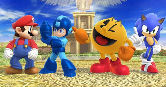 Super Smash Bros Wii U E3 2014 Third Party Characters