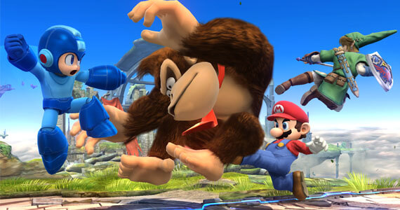Super Smash Bros Wii U Screenshots