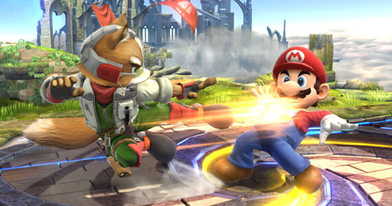 New 'Star Fox' Stage Cruising into 'Super Smash Bros. for Wii U'