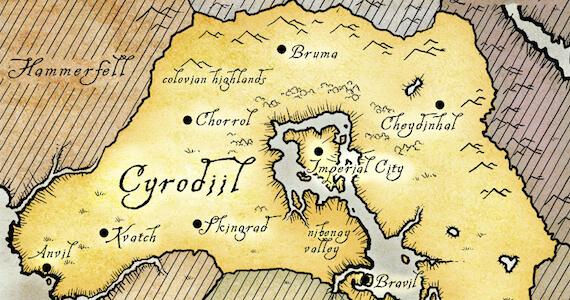 Modders Expanding 'Skyrim' To Include 'Oblivion's Cyrodiil