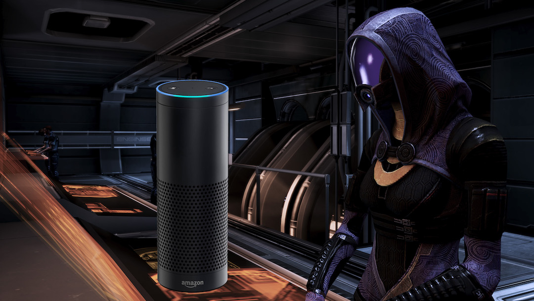 Mass Effect Easter Egg Found On the Amazon Echo