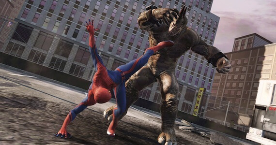 The Amazing Spider Man Preview E3 - Combat