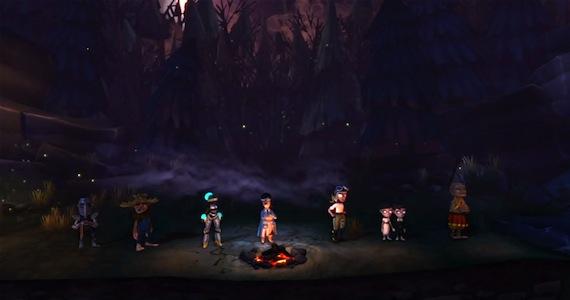 The Cave Review Cast Double Fine Sega