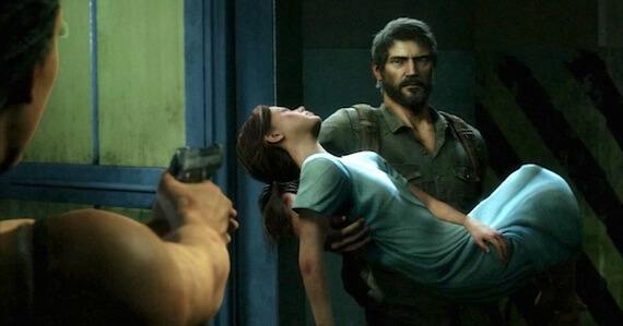 The Last of Us Ending - Joel Carrying Ellie