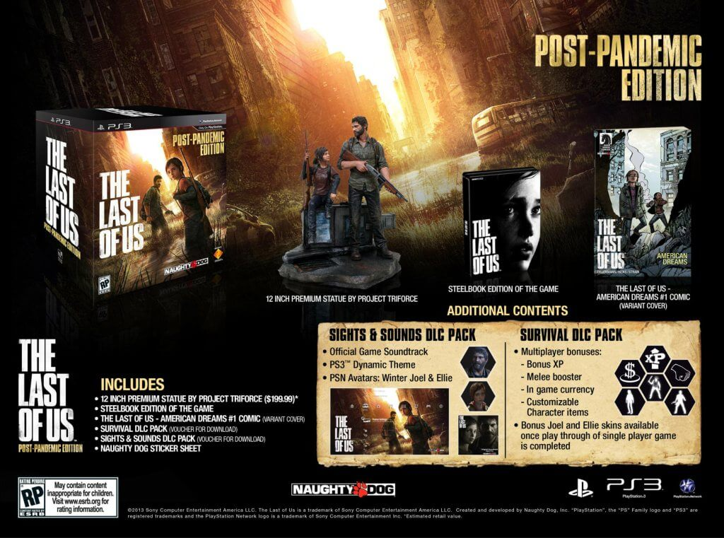 'The Last of Us' Collector's Editions Detailed