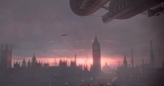 The London skyline in 'The Order 1886'