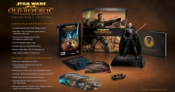 'Star Wars: The Old Republic' Collector's Edition Gets Unboxed
