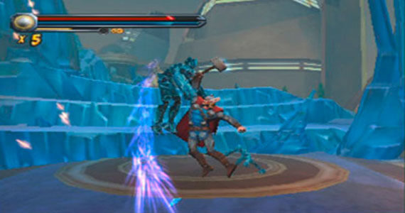 Thor God of Thunder Nintendo 3DS Screenshot