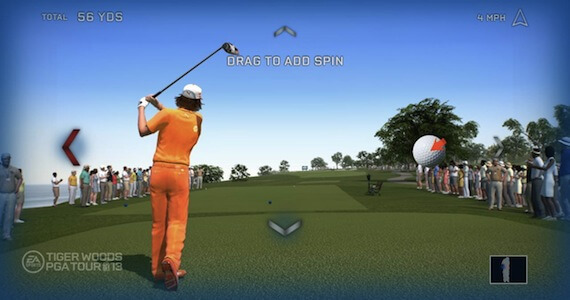 Tiger Woods 13 Review - Kinect Integration