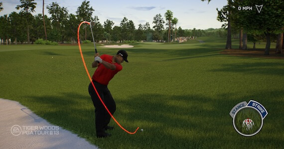 Tiger Woods 13 Review - Swing Mechanic