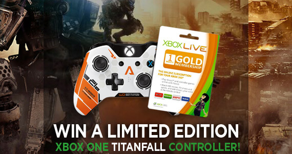 GR Giveaway — Win A Titanfall Limited Edition Xbox One Controller!