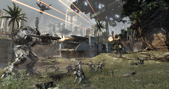 'Titanfall' Video Diary: Developers Tease a Living, Breathing World (with Mechs)
