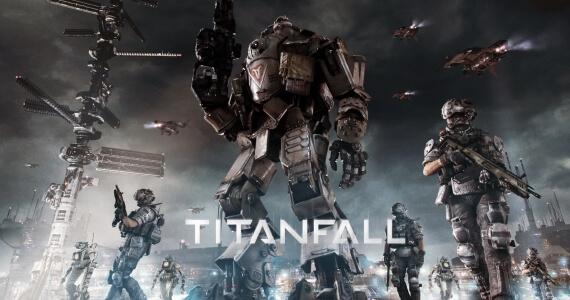 Titanfall Title Artwork