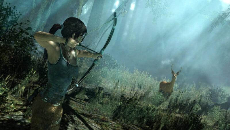 'Tomb Raider' Walkthrough Shows Traversal & Hunting