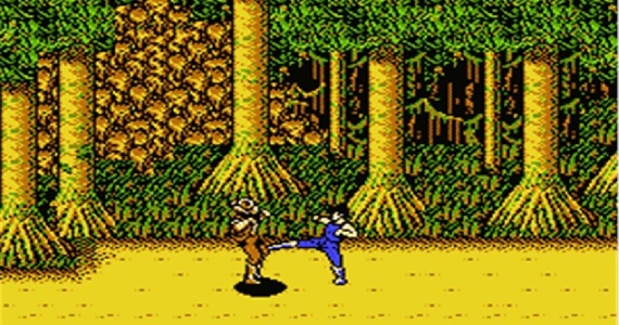 Tooth-grinding difficulty in 'The Adventures of Bayou Billy'