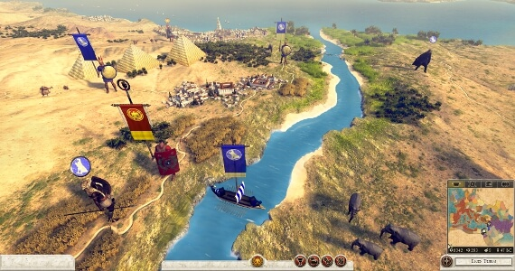 Total War Rome 2 Egypt and the Nile