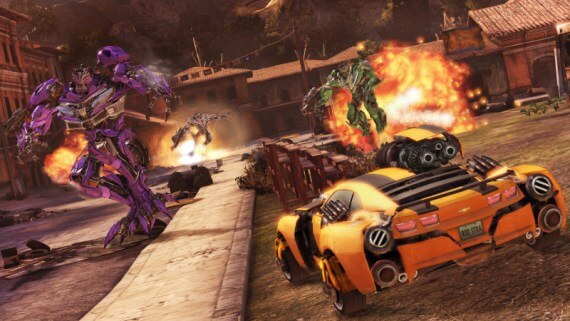 'Transformers: Dark of the Moon' Screenshots & Box Art Released