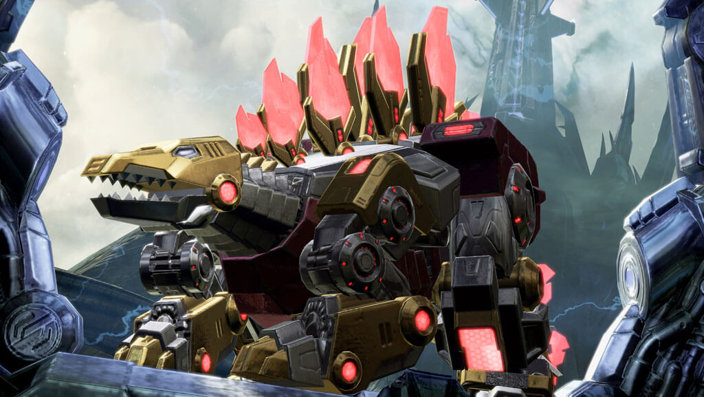 Meet The Dinobots of 'Transformers: Fall of Cybertron'