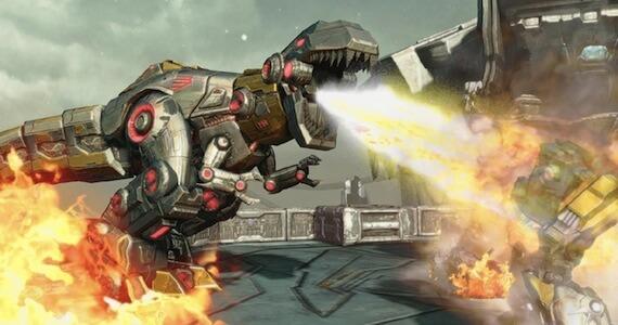Transformers Fall of Cybertron E3 Preview - Grimlock