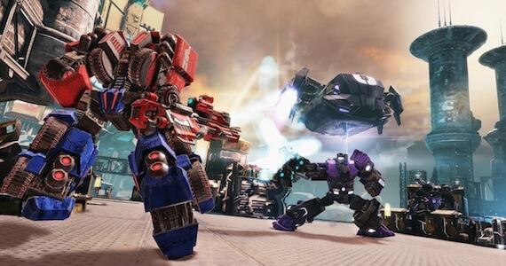 Transformers Fall of Cybertron Making Of Gameplay Trailer
