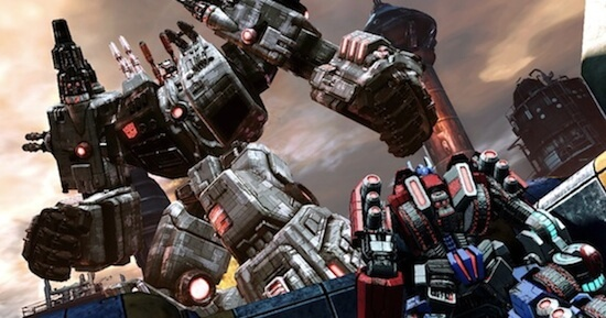 Metroplex in 'Transformers: Fall of Cybertron'