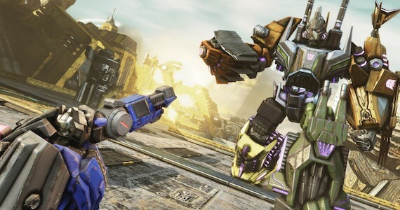 Transformers Fall of Cybertron Multiplayer Support