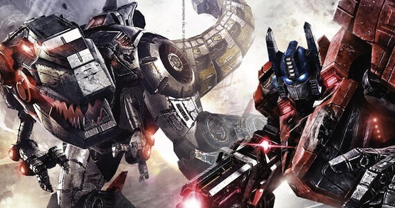 Transformers Fall of Cybertron Trailer VGAs