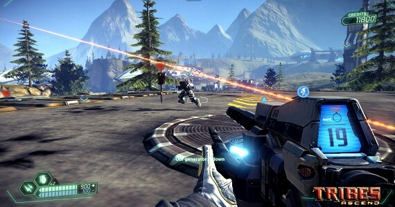 Tribes Ascend Not Coming To Consoles