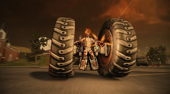 Twisted Metal Axel
